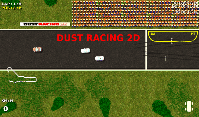 Dust Racing 2D about