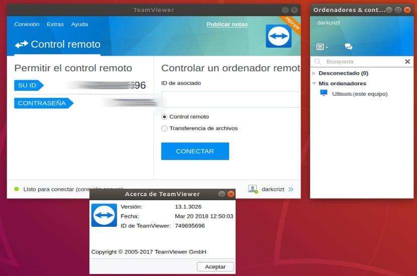 TeamViewer Ubuntu 18-04