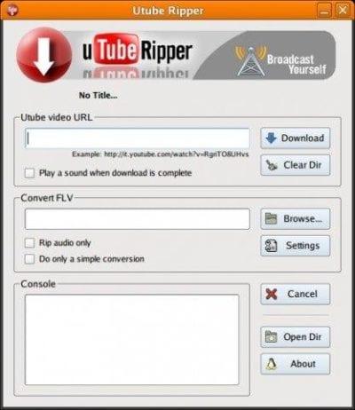 Utube-Ripper