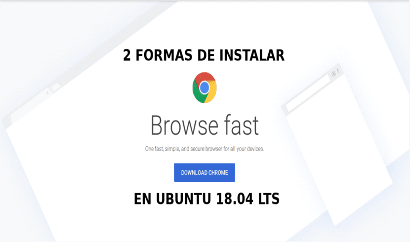 about chrome install Ubuntu 18.04