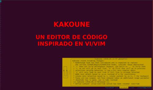 About kakoune