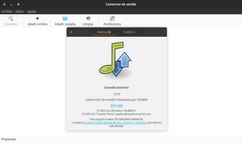 about SoundConverter