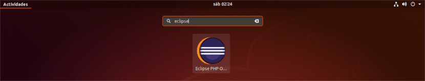 lanzador eclipse php oxygen