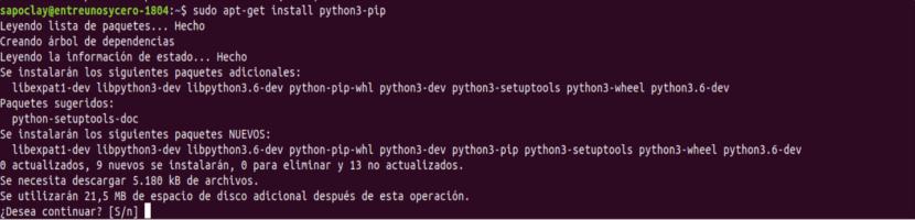 AWS CLI Python install