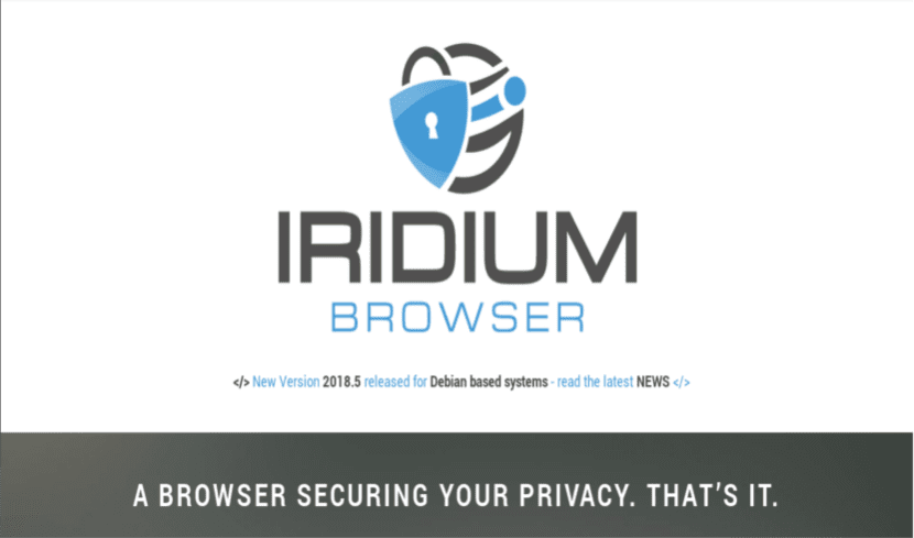 about Iridium browser