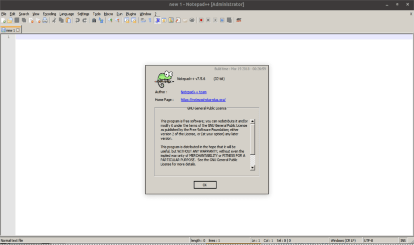 About notepad ++