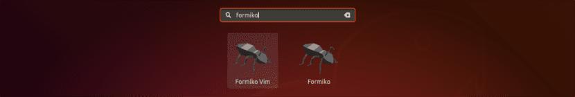 lanzador Formiko y Formiko Vim