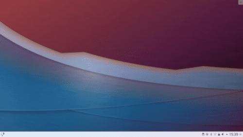 Captura de pantalla de Plasma 5.13