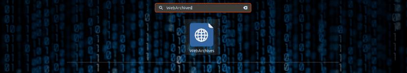 WebArchives lanzador