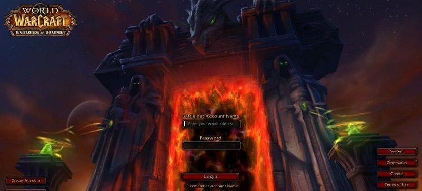 captura de pantalla de World of Warcraft