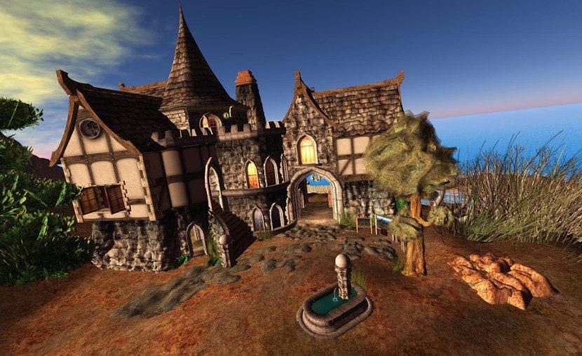 Captura de pantalla de Second Life