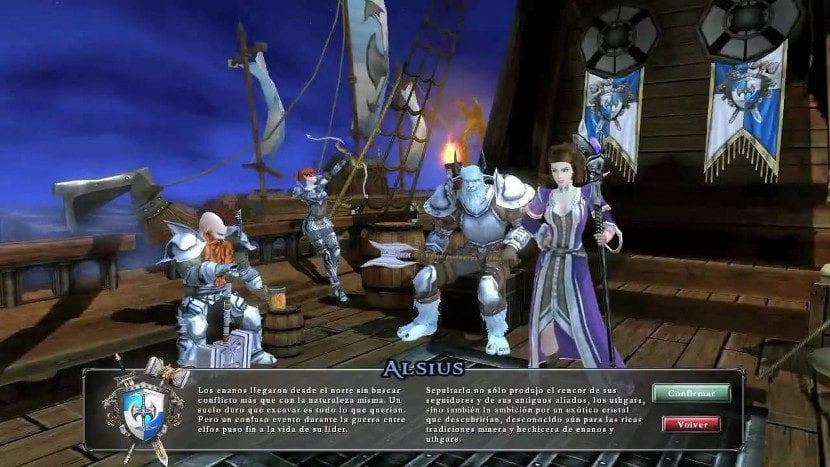 Captura de pantalla de Champions of Regnum