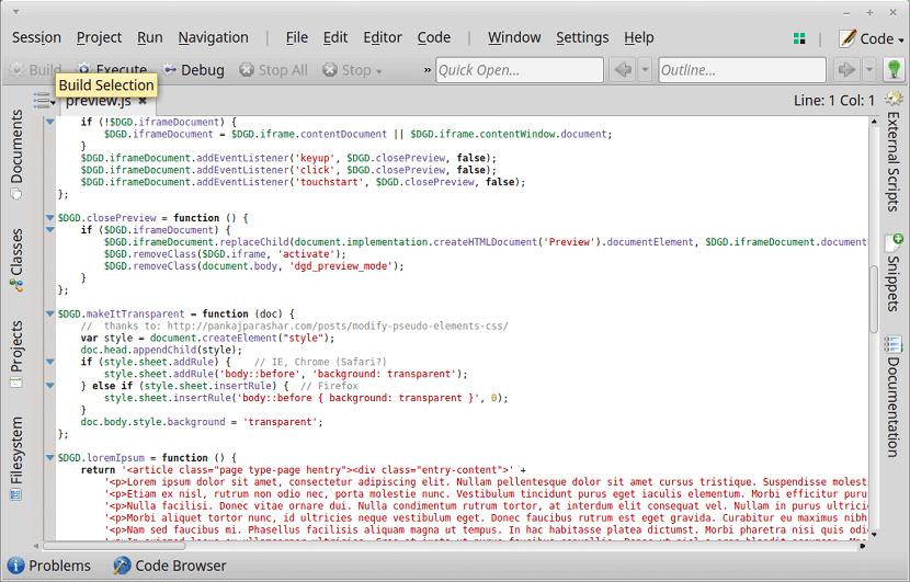 KDevelop-IDE-Editor