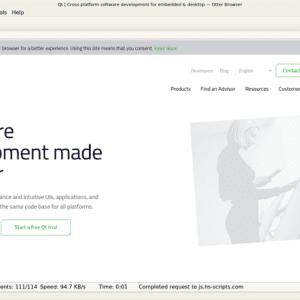 Se lanza la primera versión estable de Otter Browser 1 0