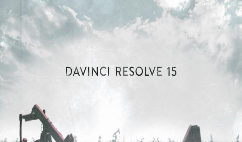 About Davinci resolve 15