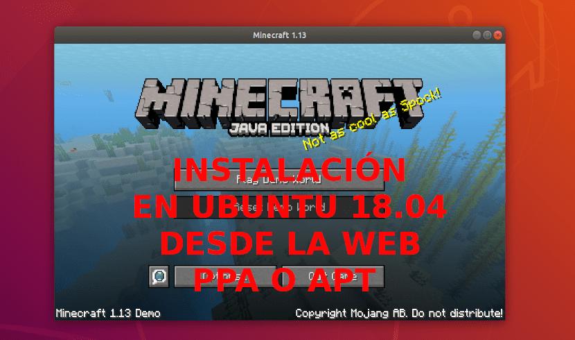 Minecraft Java Edition Instalación En Ubuntu 18 04 Desde La Web Snap O Ppa Ubunlog