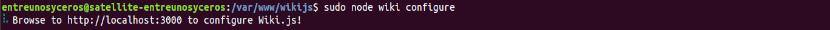 configure wiki.js