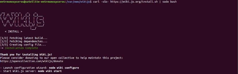 install wiki.js