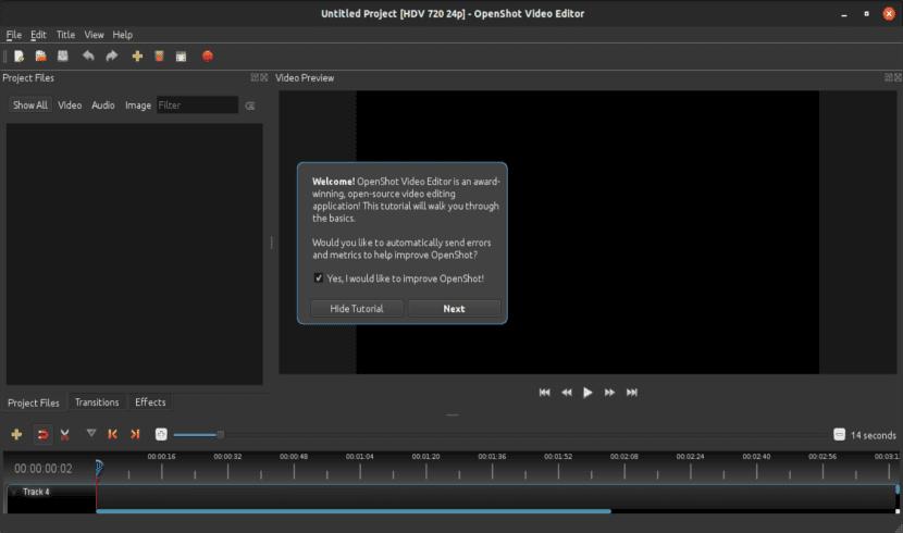 Tutorial del editor de vídeo OpenShot 2.4.2