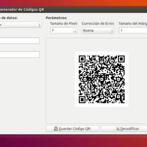 Genera y de codifica códigos QR en Ubuntu con la ayuda de QtQR