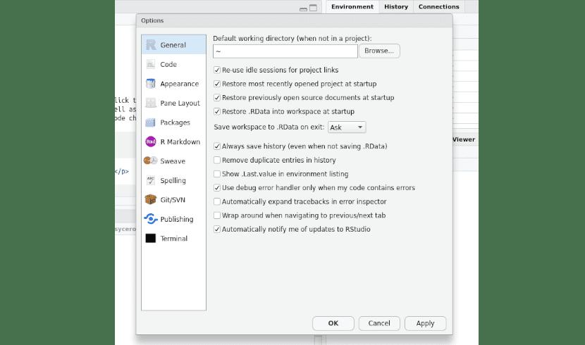 Rstudio, instala este entorno de desarrollo para R en Ubuntu