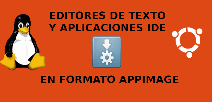 about editores de texto e ide appimage