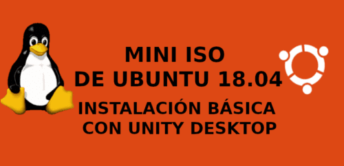 about mini iso de ubuntu 18.04