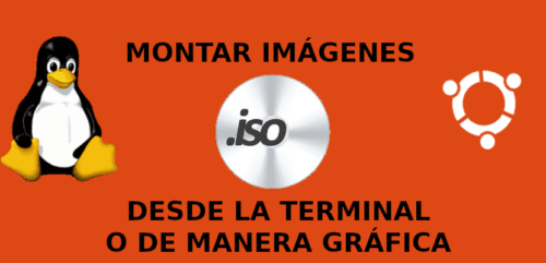 about montar imágenes ISO