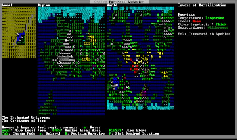 dwarf fortress emuladores y juegos retro