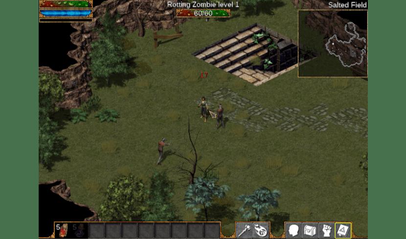 emuladores y juegos retro flare zombie attack