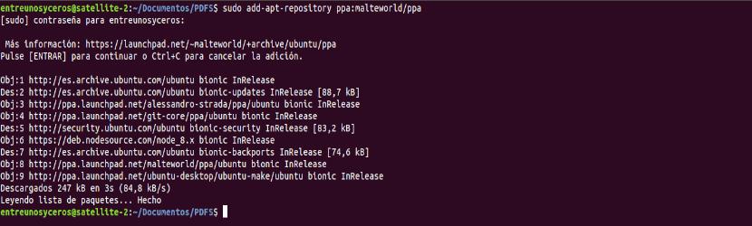 ppa pdftk malteworld combinar archivos pdf