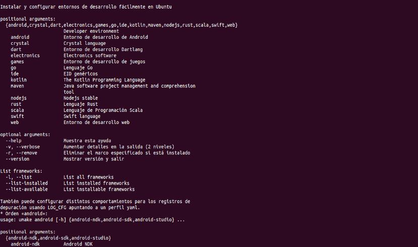 Ubuntu make developer tools help