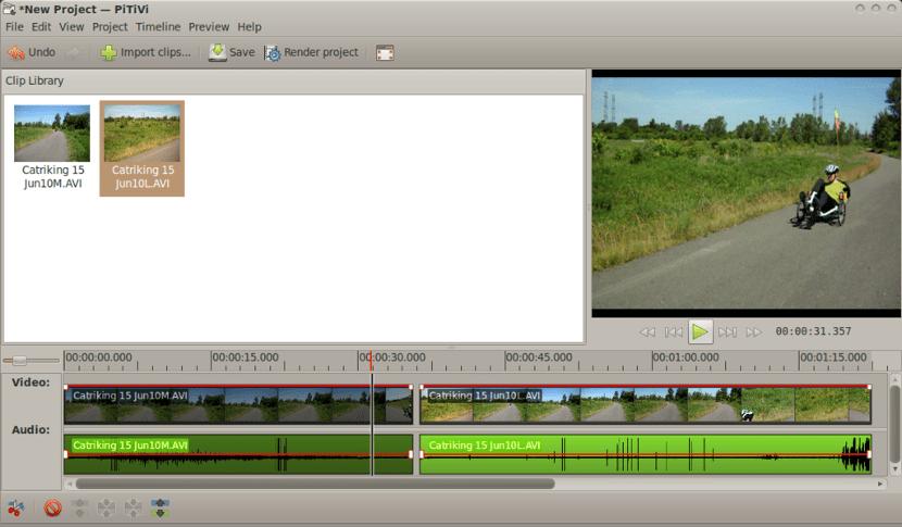 Capturas de pantalla de PiTiVi