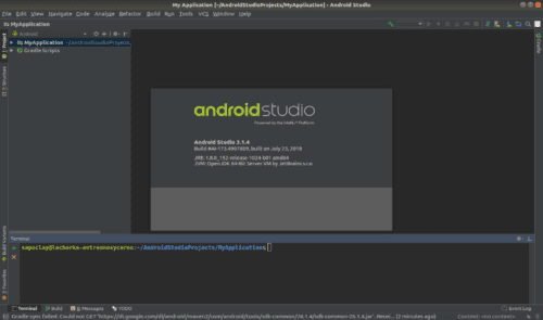 about Android Studio 3.1.4