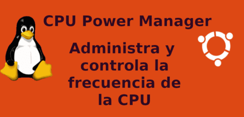 about cpu power manager