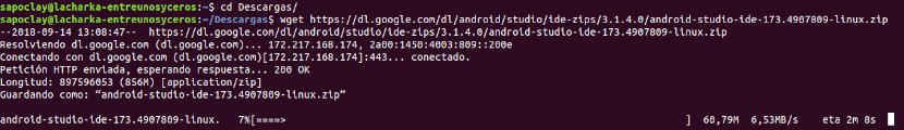 Descarga Android Studio 3.1.4