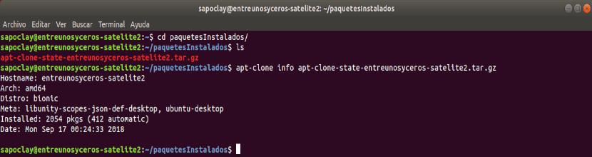 info archivo respaldo apt-clone