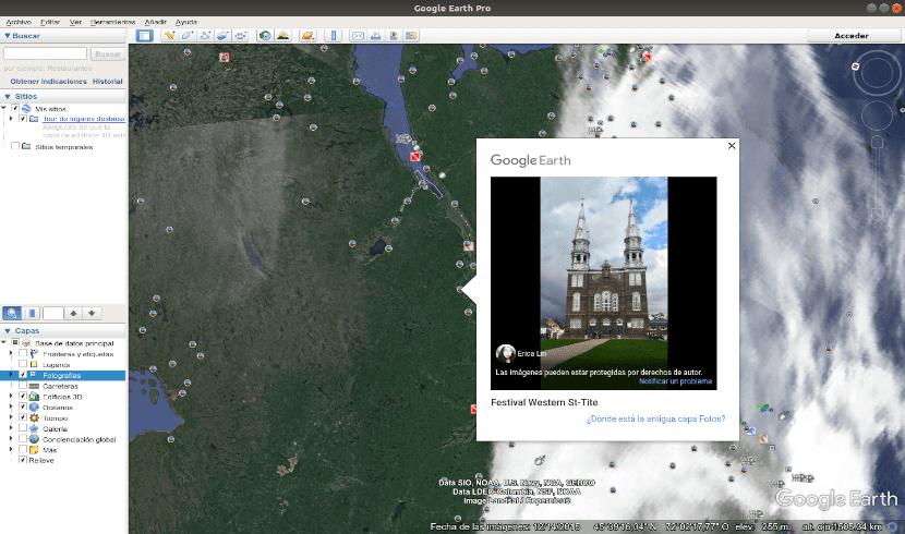 Lugares Google Earth Pro