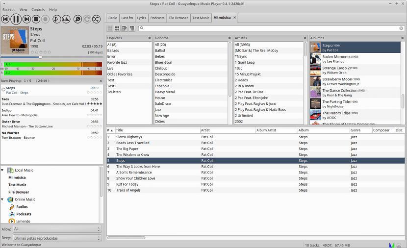 Guayadeque.Screenshot_Library