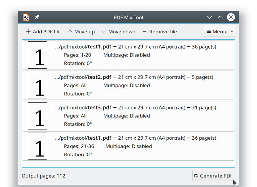 PDF Mix Tool 4