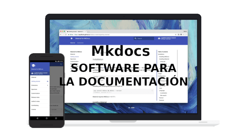 about mkdocs
