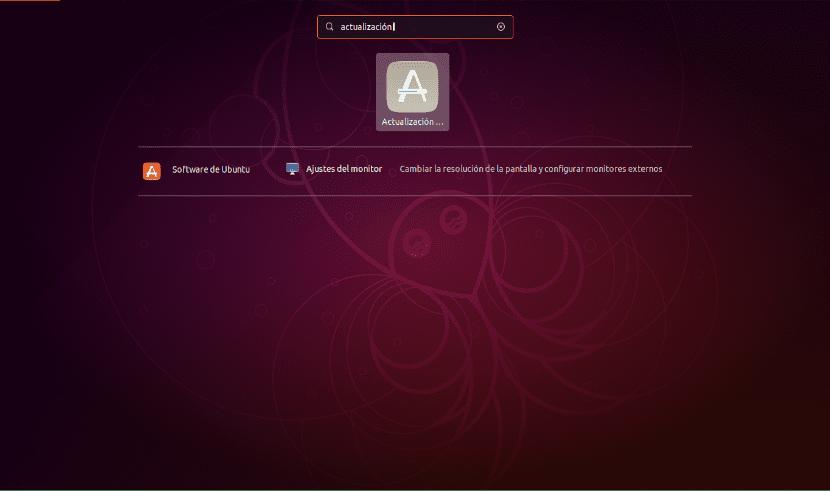 Actualización de software en Ubuntu 18.10