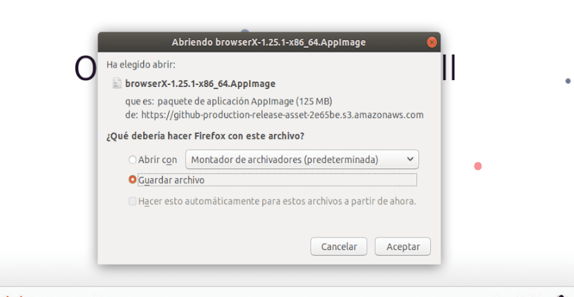 descarga archivo appimage de station