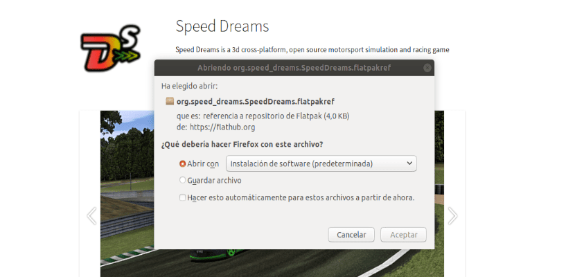 descarga paquete para speed dreams