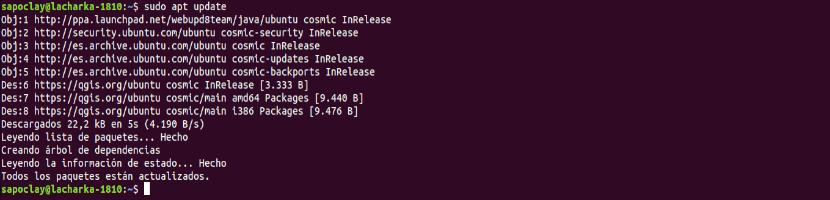 QGIS 3 update repo