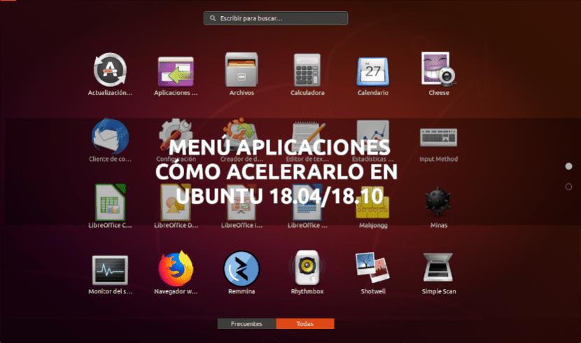 about acelerar menu aplicaciones