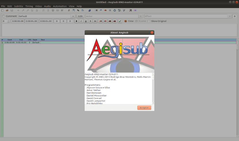 Aegisub, una herramienta gratuita para editar, crear y