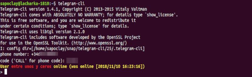 about telegram-cli