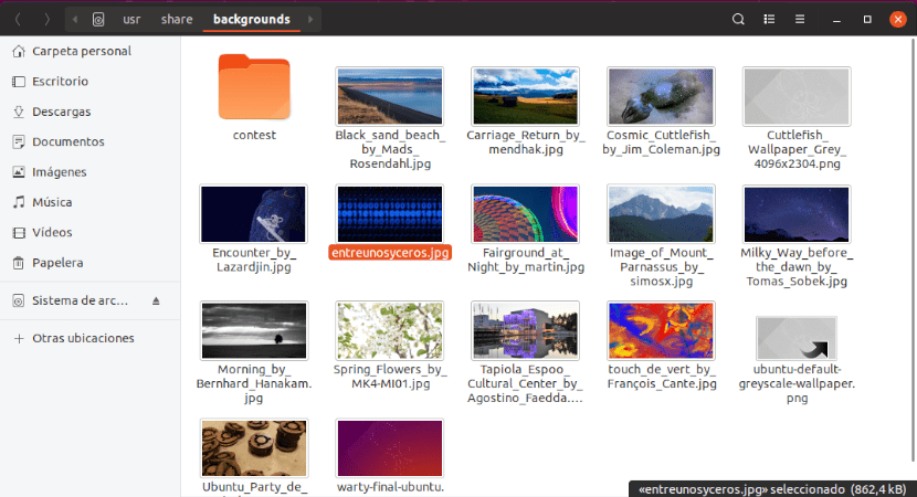 carpeta background ubuntu 18.10