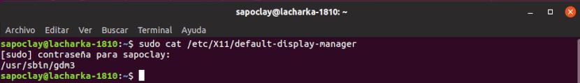 cómo ver tu gestor de inicio de sesión en Ubuntu